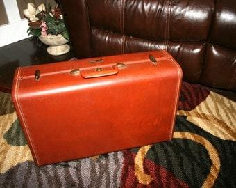 Samsonite Luggage With Key//Ladies Samsonite Suitcase//Vintage Samsonite Suitcase