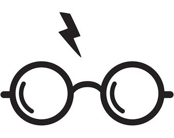 Harry Potter Glasses and Scar