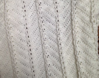 White Baby Blanket