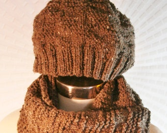 Toasty Brown Hat - Matching Scarf Sold Separately