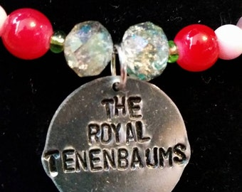 Wes Anderson's The Royal Tenenbaums Inspired Statement Necklace and Earrings Set