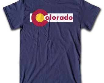 Colorado T Shirt - Retro Tees for Men, Women & Children (All Colors) Denver, Aspen,