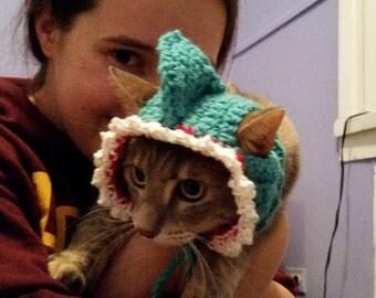 Shark Cat Costume Hat
