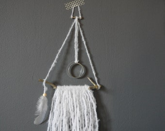 Handmade little wallhanging Zoe