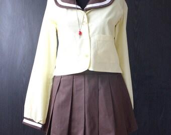 Hitomi Kanzaki Handmade pre-owned Unique Cosplay Costume from Tenkuu no Escaflowne (S size)