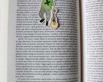 Ed Sheeran hanging cute bookmark