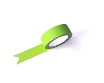 Green Washi Tape - Green Masking Tape - Green Tape - Planner Accessories - Decorative Tape - Planner Decorations - Craft Tape - WT024