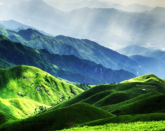 Mountains - Mountain Forest - Mountains Photo - Green - Mountain Landscape - Digital Photo - Digital Download - Instant Download - Wall Art
