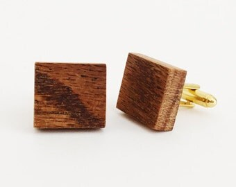 Reclaimed Wood Cufflinks