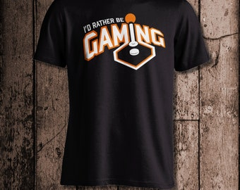 I'd rather be GAMING | Men's tee | Perfect for a gamer