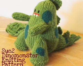 Dinomonster Pattern Digital Download
