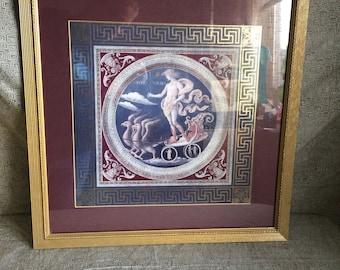 Hermes Framed Artwork