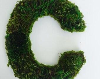 Custom Moss Lettering & Phrases