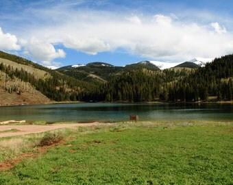 """8.5""""x11"""" Colorado lake print"""