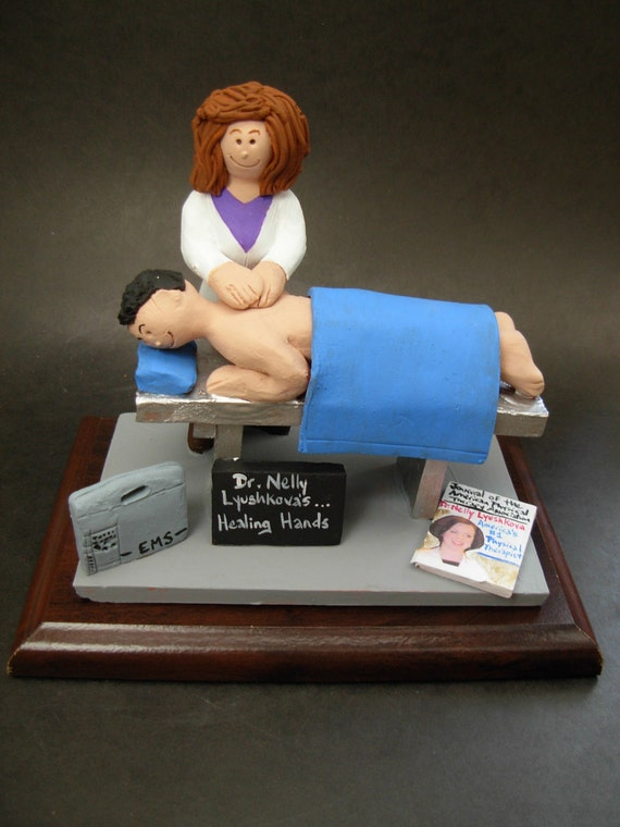 Personalized Physical Therapist's Figurine