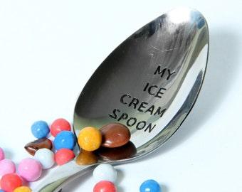 My Ice Cream Spoon, Ice Cream Lovers Spoon