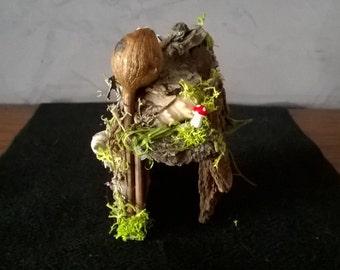 The Tiny Home ~ ooak Faerie House