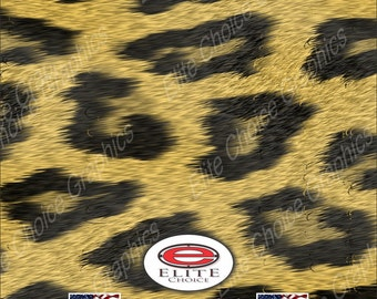 """Leopard Print 15""""x52"""" or 24""""x52"""" Truck/Pattern Print Tree Real Camouflage Sticker Roll or Sheet"""