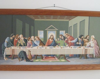 The Last Supper, Paint By Number, Religious, Spiritual, Wall Hanging Part 91