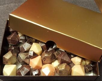 Chocolate diamonds treasure box