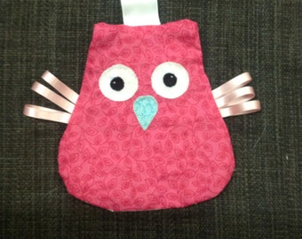 Baby Owl Crinkle Toy