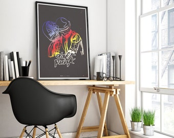 poster daft punk, poster disco, daft punk one more time, electronic music, daft punk illustration, music poster, daft punk homework, music.