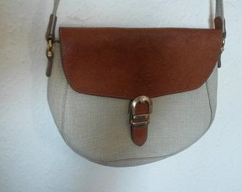 Vintage Texier saddle bag Vintage shoulder bag Crossbody bag