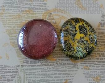 Glass Pebble Fridge Magnets