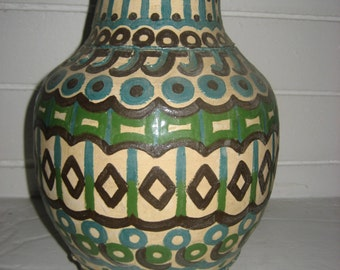 "12"" Tall Original Designed Ceramic/Pottery Vase"