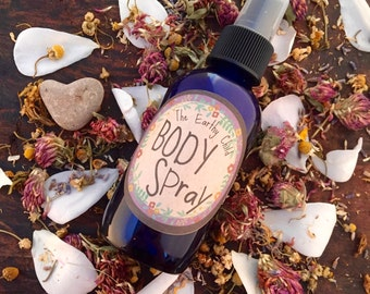 Body Spray, pillow mist, peaceful rest, lavender spray, spa gift, aromatherapy, room spray, gifts for women, gifts for men