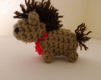Tiny Horse Amigurumi Crochet Pattern