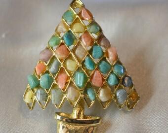 Mosaic Tree Pin