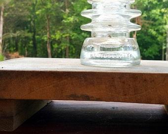 Vintage Glass Insulator