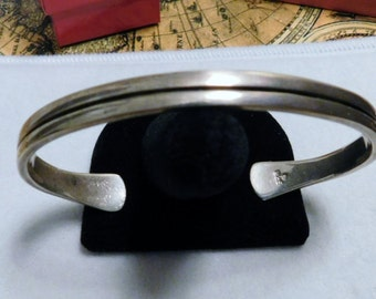 Vintage Sterling Silver - 925 - Bracelet with Simple Design