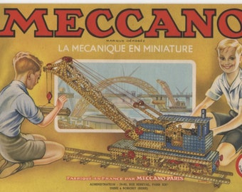 MECCANO magazine 1949 - in French