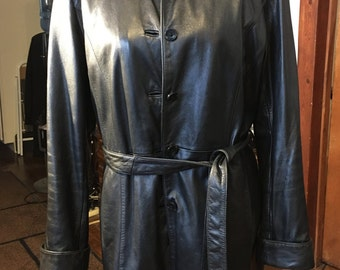 Wilson Leather Jacket, black,