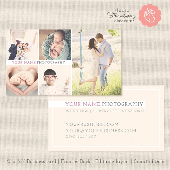 Photography Business Card Template Photoshop Template Photo - Photography business card template photoshop