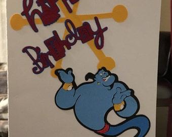 Genie Birthday Card
