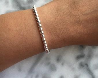 BOBBIN   Silver Ball Bracelet