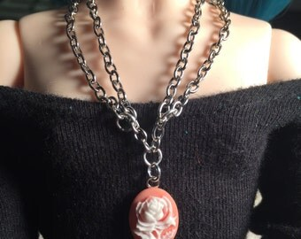 BJD Double Chained Charm Necklace