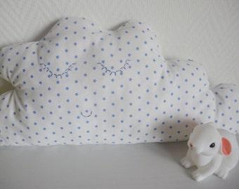 Cushion cloud fabric stars