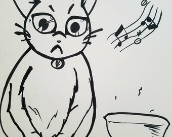 Singing Cat, Hungry Cat