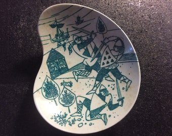 Limited addition candy dish from Denmark