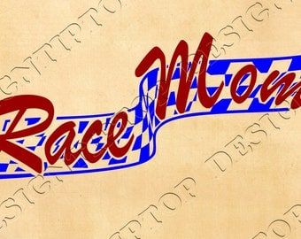 Race Mom svg, dxf, png, racing flag Cricut, Silhouette, race flag, checkered flag,Mom svg, racing svg, car decal, Race Mom flag, svg designs