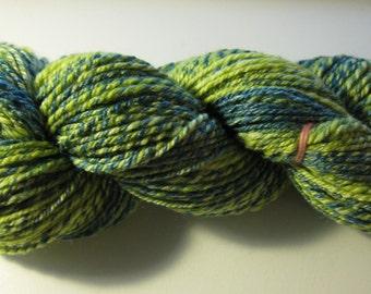 Handspun Yarn Superwash Merino+Bamboo+Nylon - 180yds