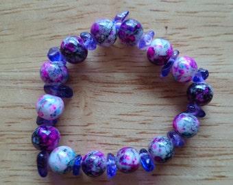 Beautiful purple bracelet