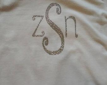Monogrammed Initials tshirt