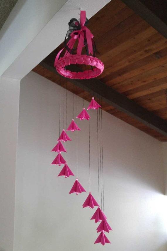 Japanese Baby Gift Ideas : Origami cherry blossom mobile housewarming gift idea japanese