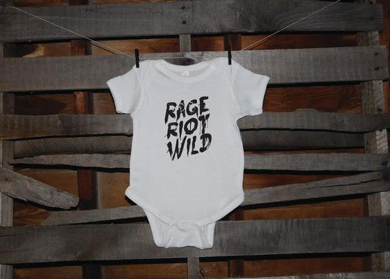 Rage Riot Wild Baby Onesie/T-Shirt