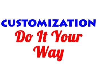Custom Design / Add On
